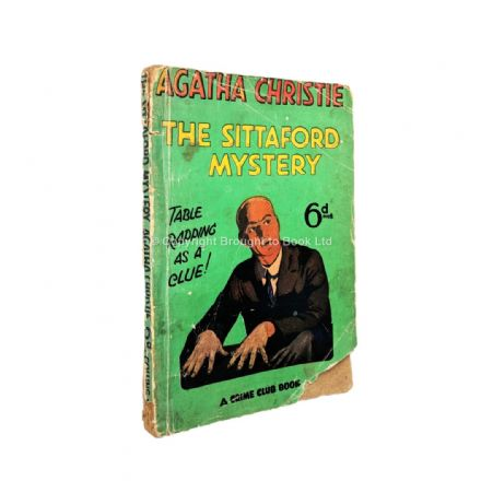 The Sittaford Mystery by Agatha Christie First Thus Collins